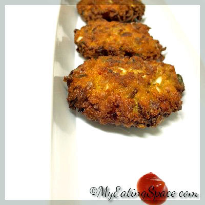 Spicy Cabbage Fritters