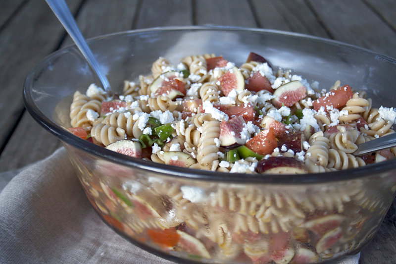 A Sweet and Savory, Einkorn Pasta Salad