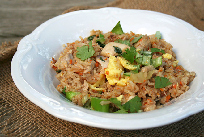 Chicken Fried Rice Recipe In The Rice Cooker