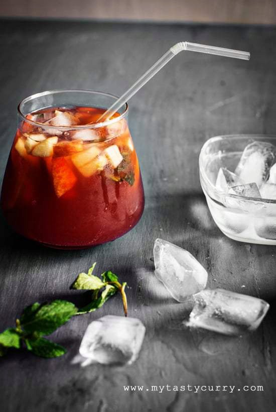 Non Alcoholic Sangria For Summers