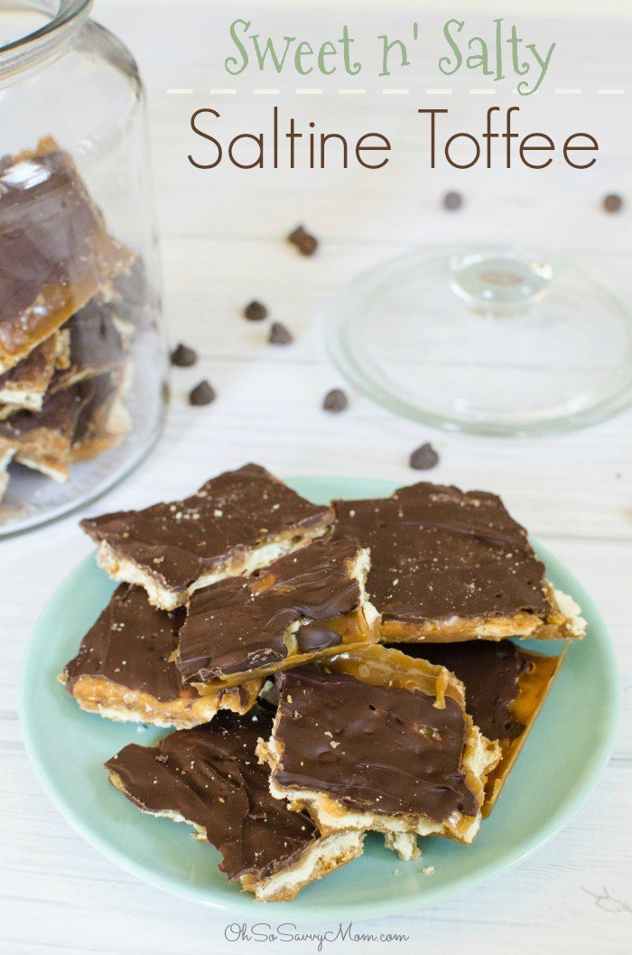 Sweet and Salty Saltine Toffee Recipe