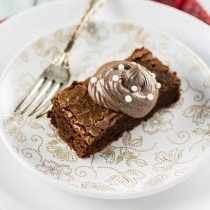 The Disney Gourmet Series - Beauty and the Beast's Grey Stuff Brownie