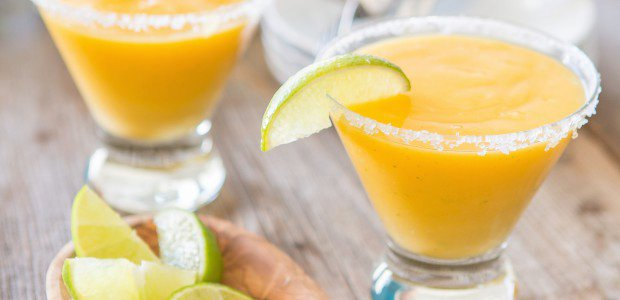 Sneak Peek Recipe from Juli Bauer's Paleo Cookbook: Frozen Mango Margaritas