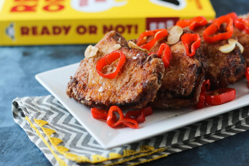 Ready or Not Cookbook Review: Salt & Pepper Fried Pork Chops