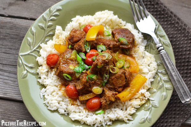 Beef In Coconut Curry Sauce