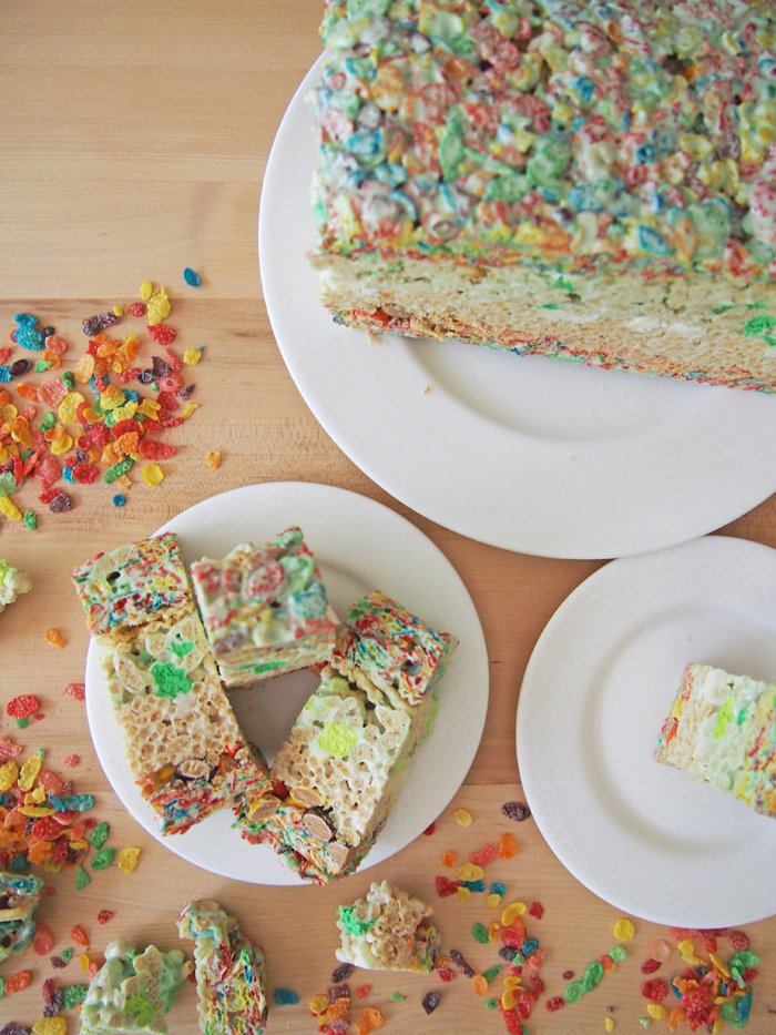 Seven Layer Cereal Treats