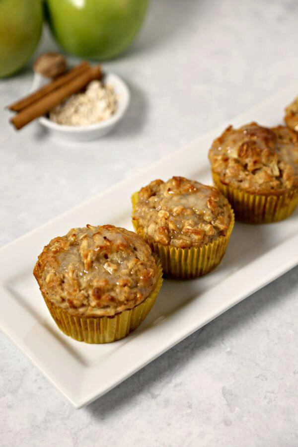 [b]Apple Oatmeal Muffins[/b]