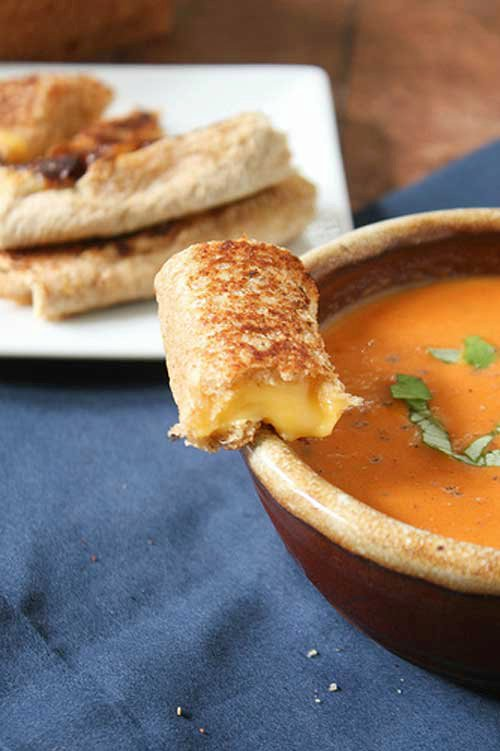 Grilled Cheese Rolls
