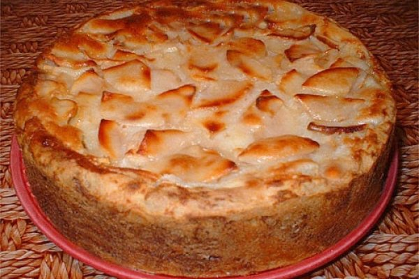 Pie Upside down with apples
