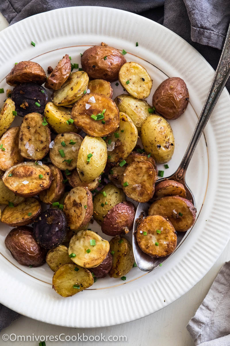 Five Spice and Garlic Roasted Potatoes