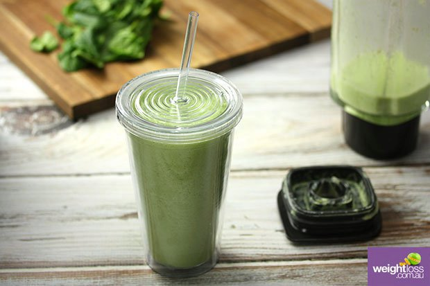 Pineapple & Spinach Smoothie