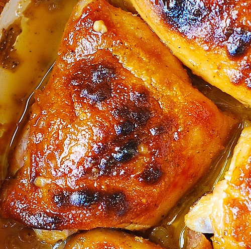 Best Baked Chicken Thighs