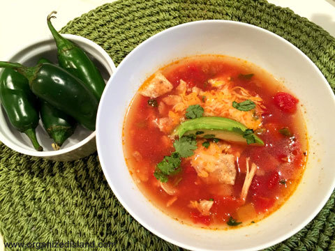 Simple Chicken Tortilla Soup