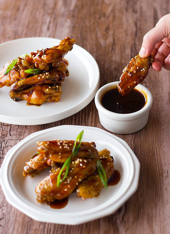 Sweet and Sour Baked Chicken Wings (with my secret sauce)