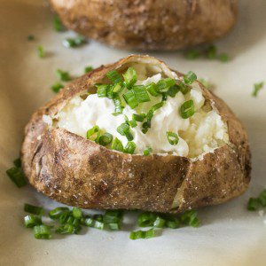 Steakhouse Style Baked Potato
