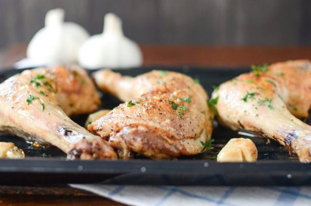 Garlic Braised Chicken Legs