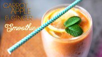 Carrot, Apple and Ginger Smoothie