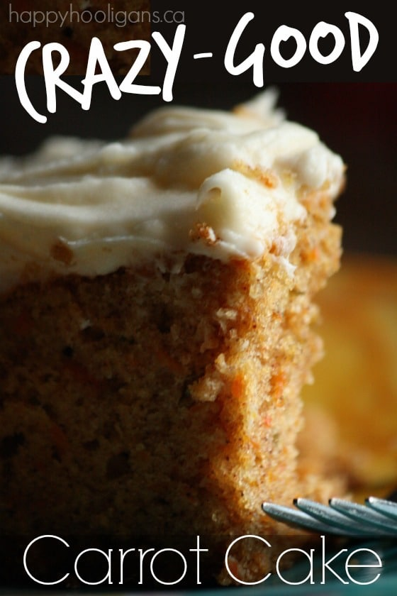 Crazy-Good Carrot Cake With Cream Cheese Frosting