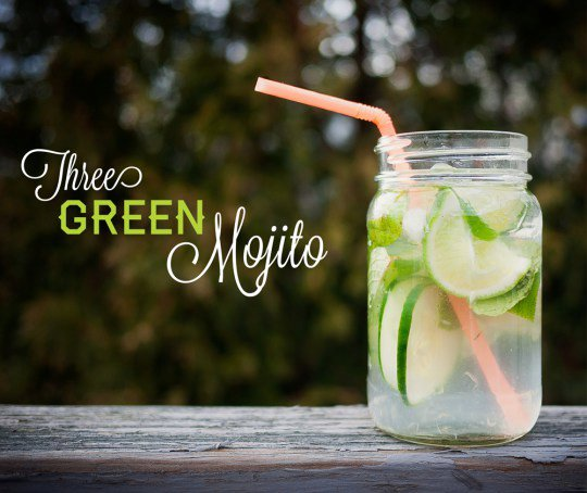 Three Green Mojito