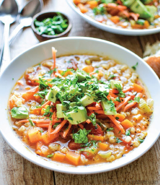 Slow Cooker Sweet Potato And Celery Soup #Recipe