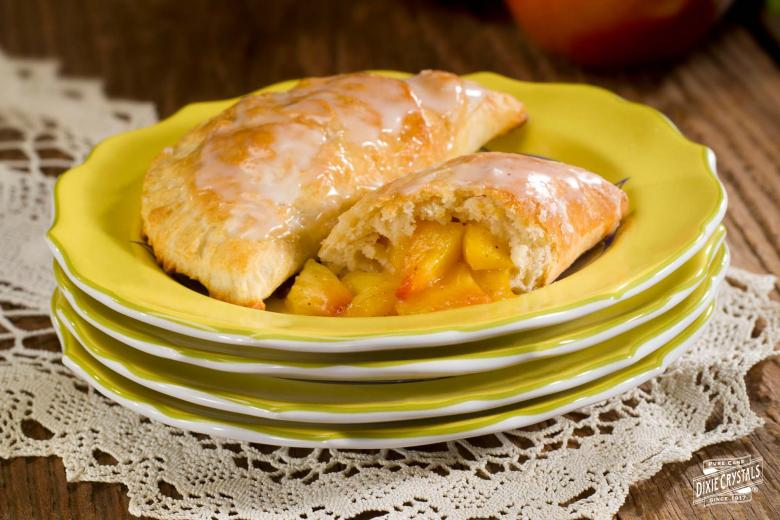 Baked Peach Turnovers