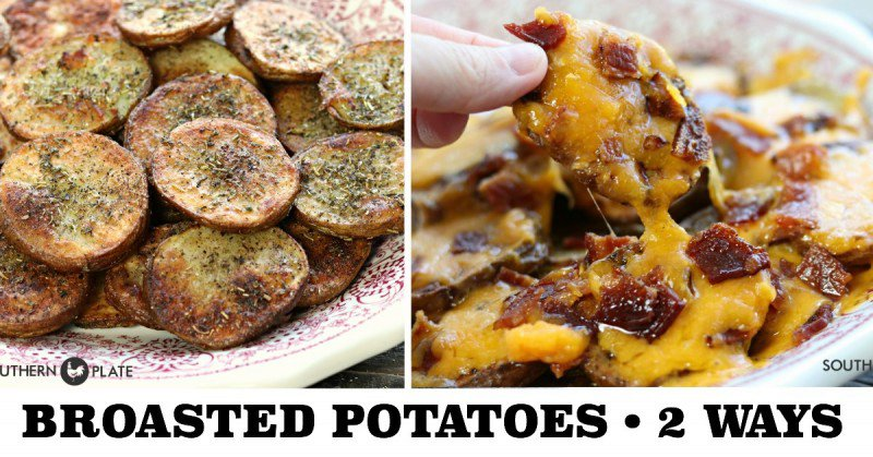 Broasted Potatoes (Seasoned, Smothered, & Covered Options)