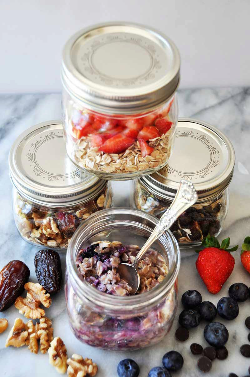 Homemade Flavored Instant Oatmeal