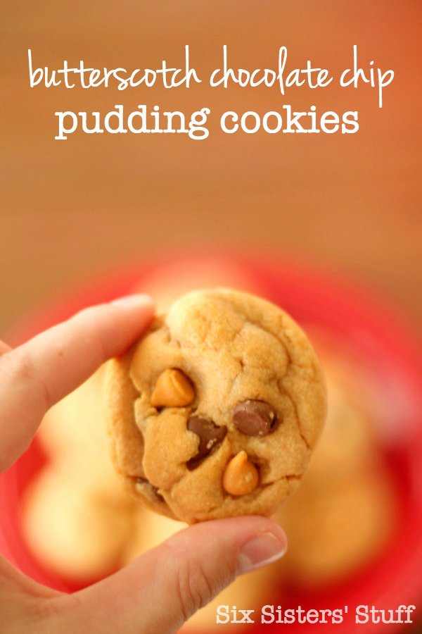 Butterscotch Chocolate Chip Pudding Cookies Recipe