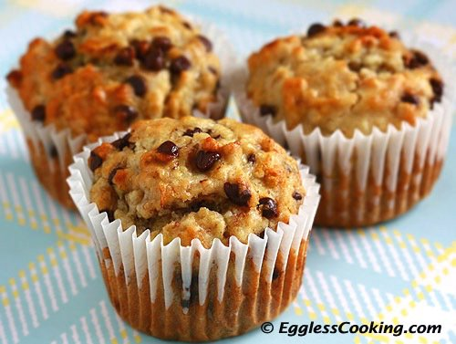Banana Chocolate Chip Muffins Recipe Madhuram
