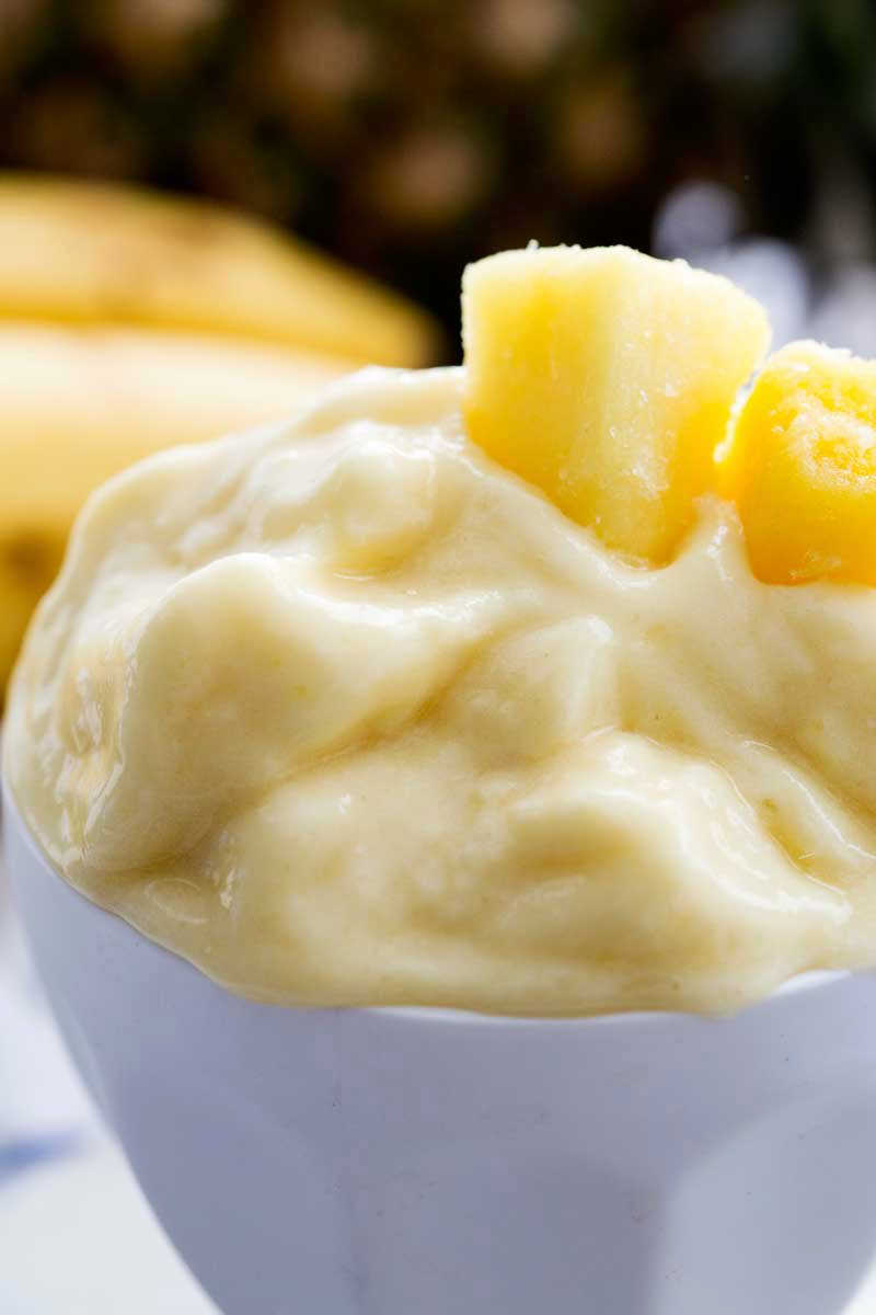Healthy Pineapple Dole Whip