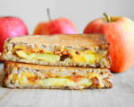 Apple Cheddar Bacon Grilled Cheese