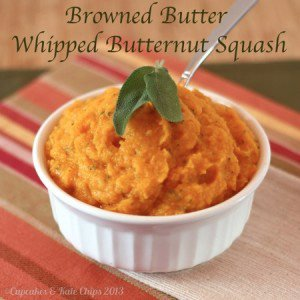 Browned Butter Whipped Butternut Squash