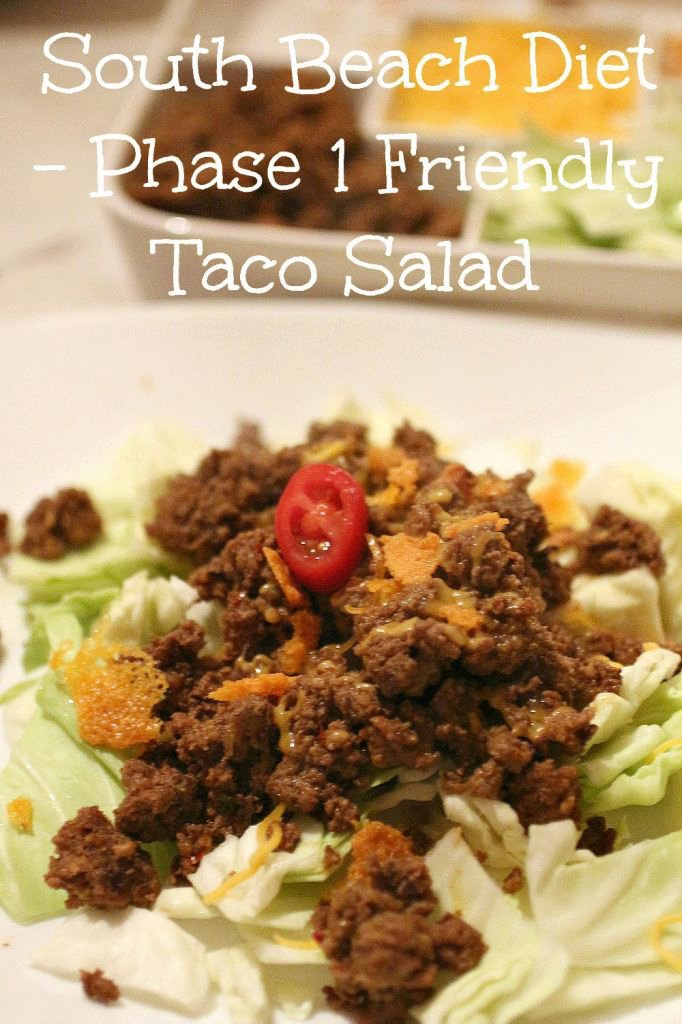 Taco Salad – South Beach Diet Phase 9 Friendly