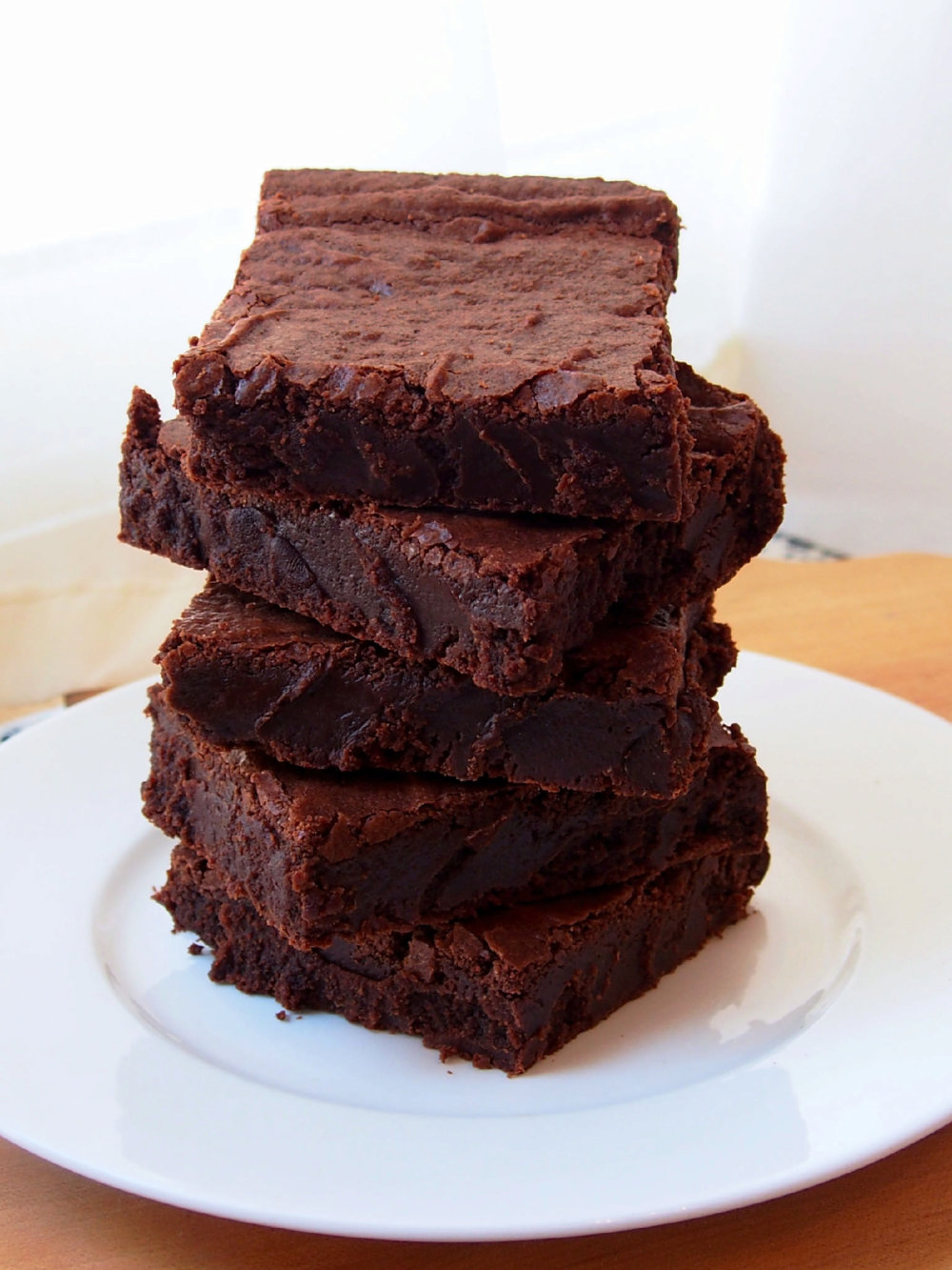 One Bowl Fudge Brownies from Scratch
