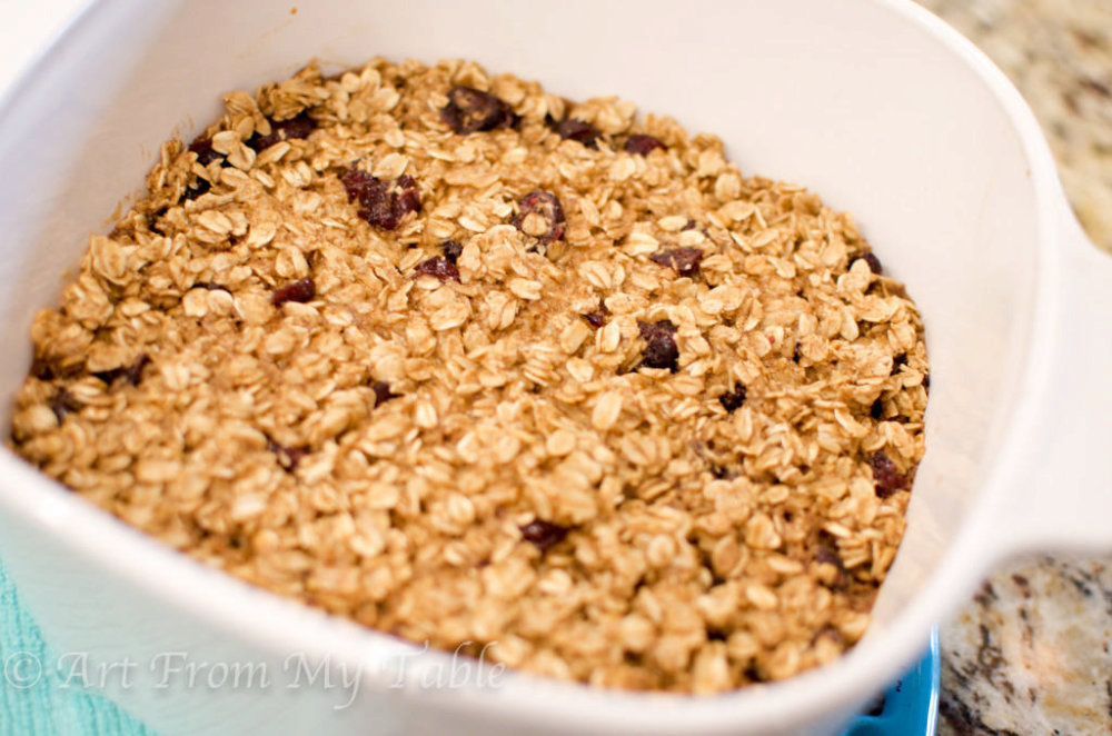 Scrumptious Baked Oatmeal