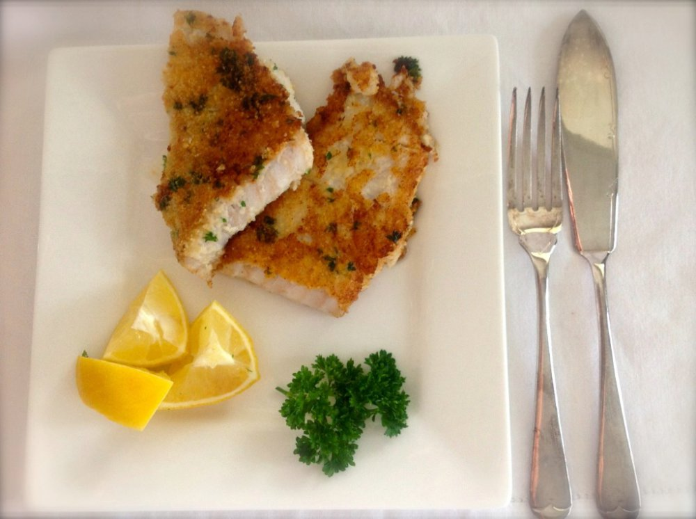 Lemon and Parsley Crumbed Fish