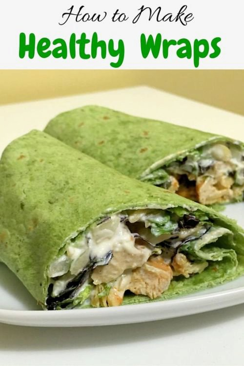 How to make Healthy Wraps!