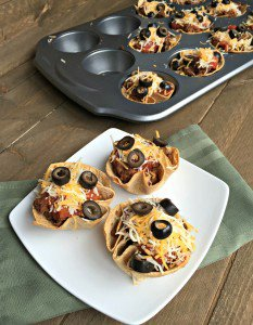 Mexican Beef Taco Cups