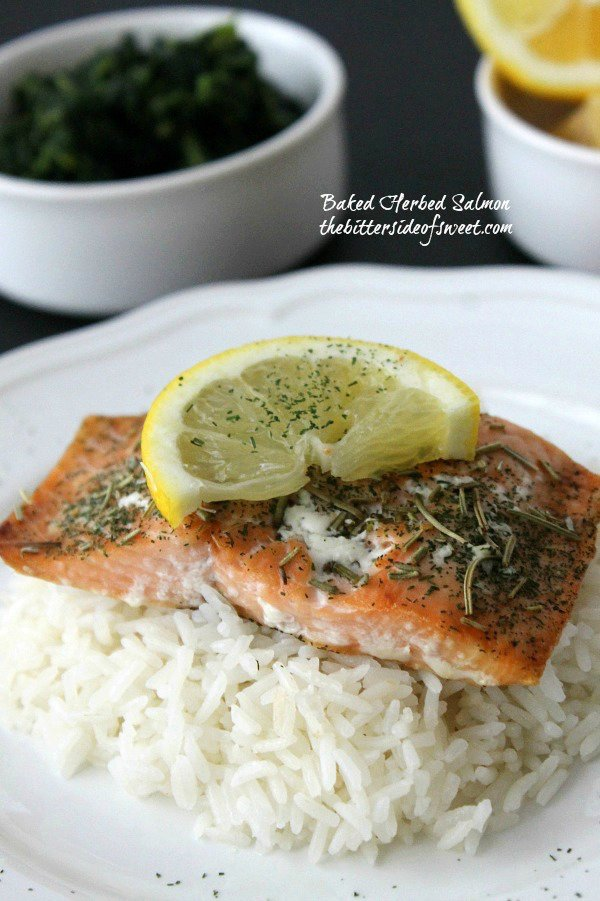 Baked Herbed Salmon