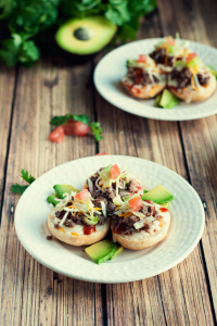 Mini Taco Pizzas