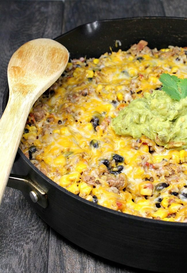 One Pot Mexican Turkey and Rice