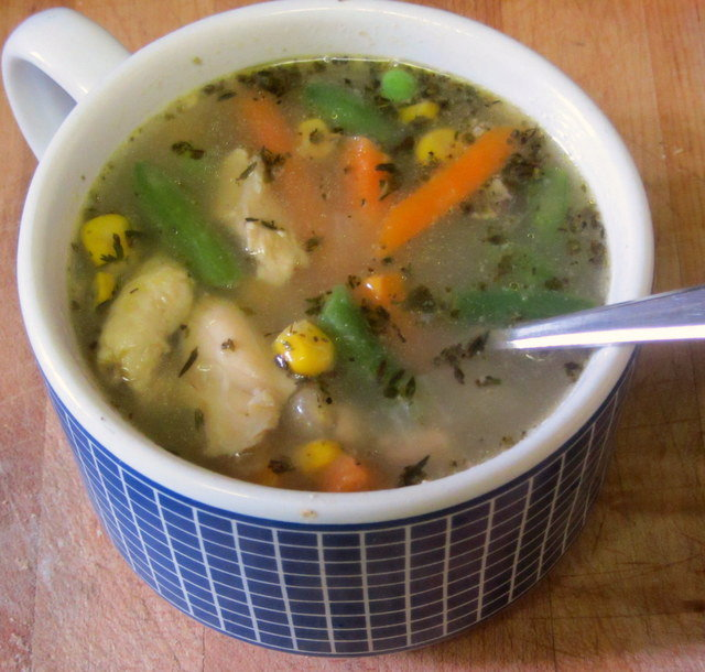 Flu Season Chicken Soup