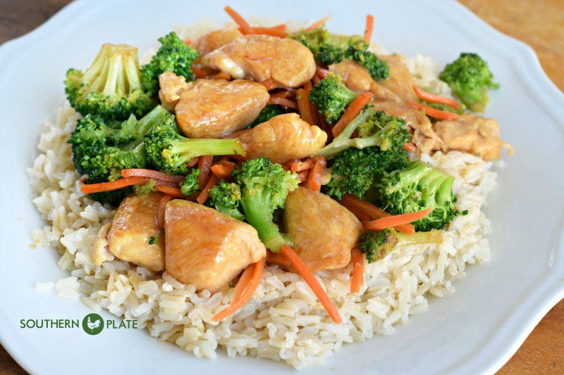 Fresh & Fast Chicken Teriyaki with Brown Rice