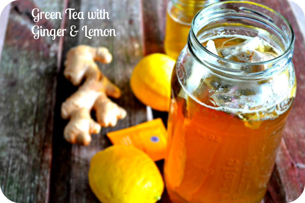Lemon and Ginger Green Tea for Weight loss