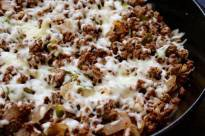 Lean Beef Cheesesteak Skillet