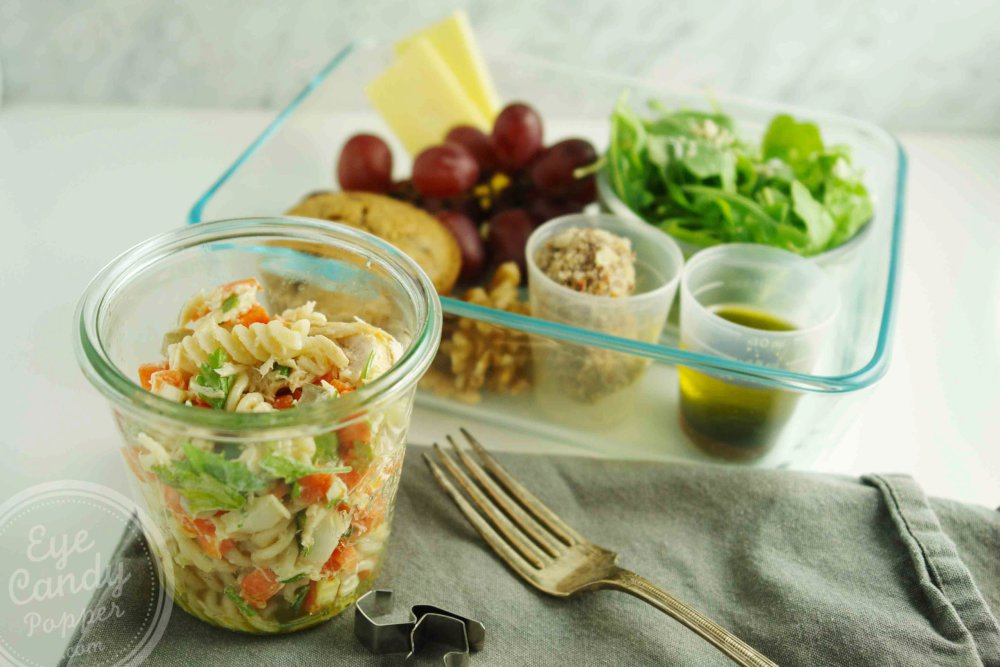 Meatless Monday Special Lunch Edition: Tuna pasta salad