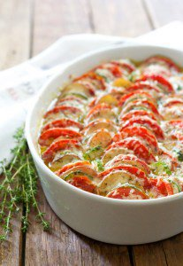 Late Summer Vegetable Tian