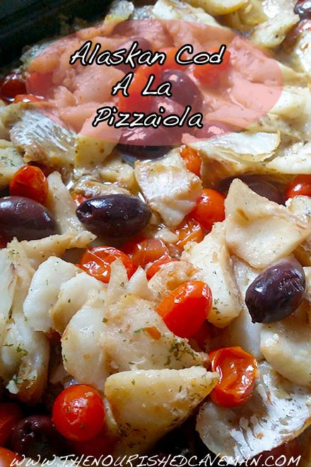 Alaskan Cod A la Pizzaiola: Why Eat Fish And How To Choose It!