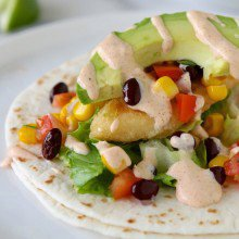 The Easiest Fish Tacos