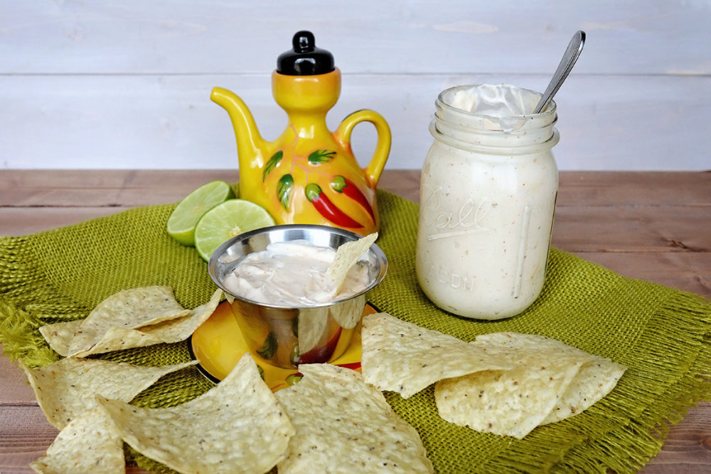 Mexican Restaurant White Dipping Sauce